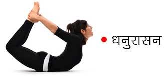 Dhanurasana Pose Benefits in Hindi
