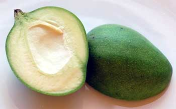 Health Benefits of Raw Green Mango in Hindi