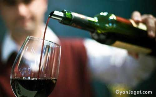 Benefits of Wine for Health in Hindi