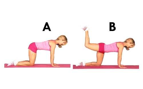 Leg Lift Exercise Photo