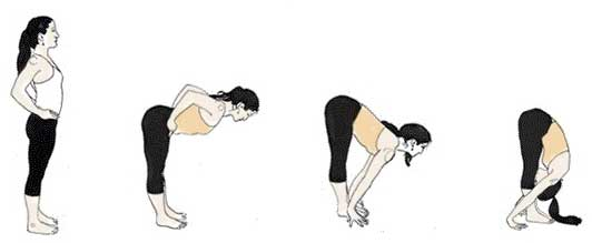 Uttanasana Health Benefits in Hindi